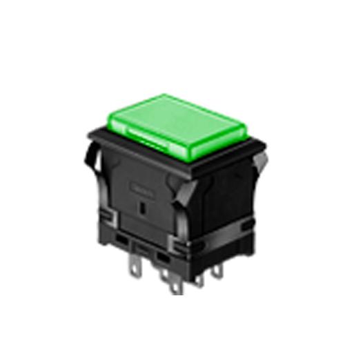 Panel EH Rectangular plastic Push Button Switch, RJS Electronics Ltd. LED illumination, plastic housing, single LED illumination, bi-colour LED illumination, Momentary Pushbutton Switch or Latching Pushbutton Switch, RJS Electronics ltd.