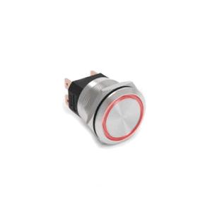 flat head - high current - push button switch - rjs electronics ltd