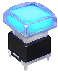 full led illumination push button switch, pcb mount