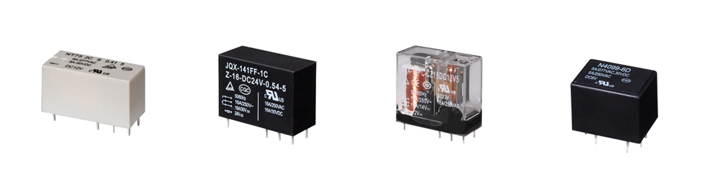general purpose relays, pcb mount, rjs electronics ltd