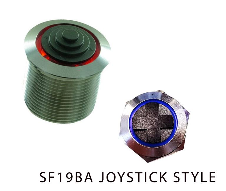 SF19BA JOYSTICK STYLE, navigation module, led illumination, rjs electronics ltd