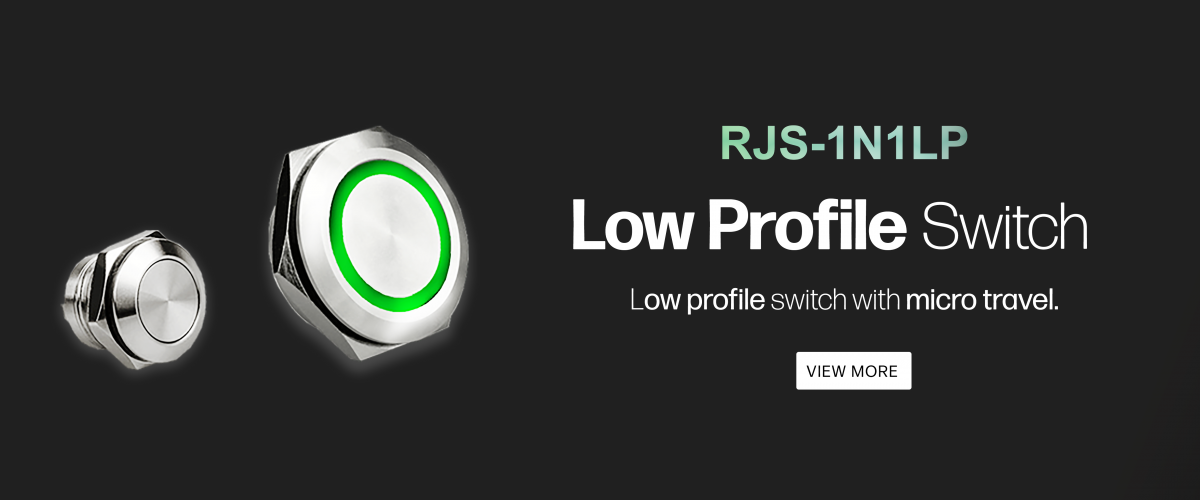 low profile switch with micro travel available at rjs electronics ltd