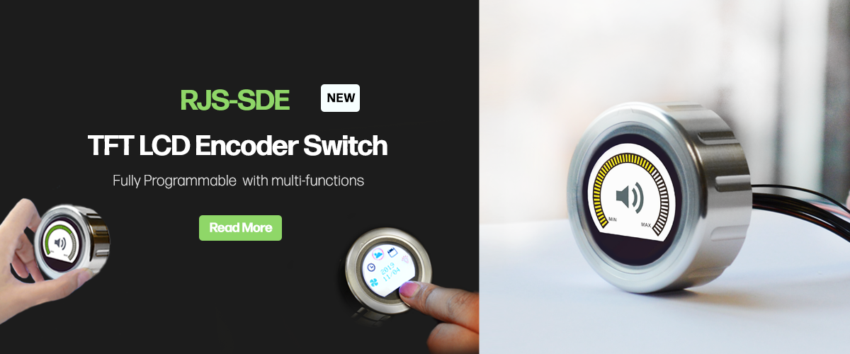 RJS-SDE LCD ENCODER SWITCH