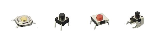 non-illuminated tact switches, rjs electronics ltd