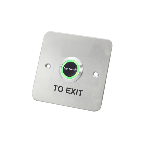 no touch exit button, touchless infrared switch
