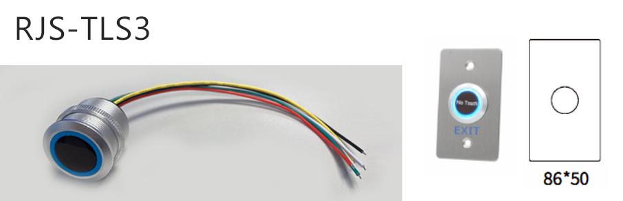 rjs-tls3-dimentions and switch - dual LED illumination, RJS Electronics Ltd.
