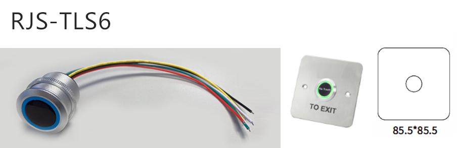 rjs-tls6-dimentions and switch - dual LED illumination, RJS Electronics Ltd.
