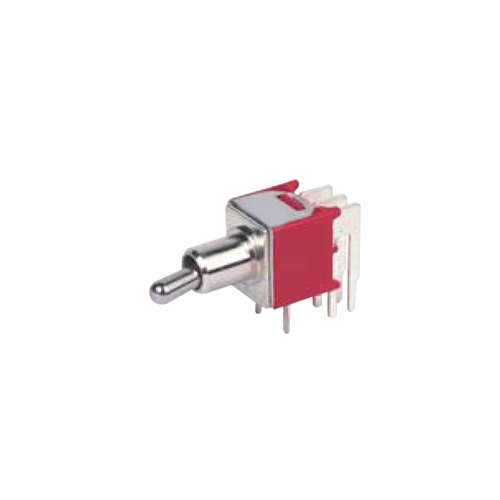 rjs-toggle-switch-2M-M6-DPDT- PCB, Panel mount, Toggle Switches, IP rated, without LED illumination, guards and accessories available. Miniature toggle switch, sealed waterproof toggle switch, sub-miniature toggle switches, ultraminiature toggle switches. Horizontal, right angle, vertical toggle switch. RJS Electronics Ltd.