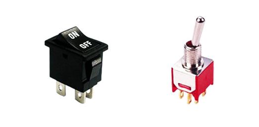 rocker vs toggle switches, rjs electronics ltd