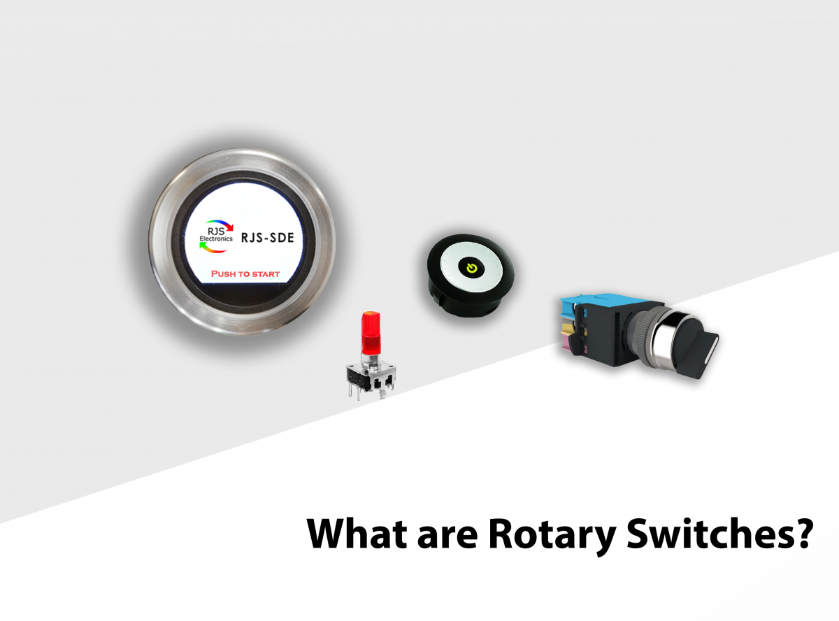 what are rotary switches? see the type of rotary switches with RJS Electronics Ltd.