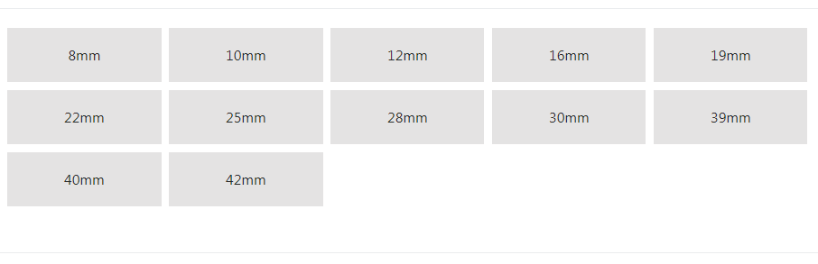 Select your panel mount, metal push button size, RJS Electronics Ltd.