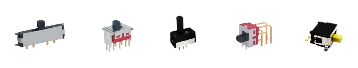 slide switches, pcb mount, rjs electronics ltd