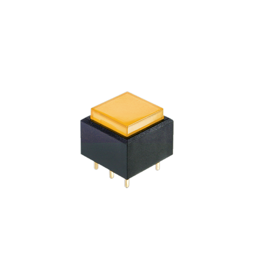 spc square push button switch with led illumination available at rjs electronics