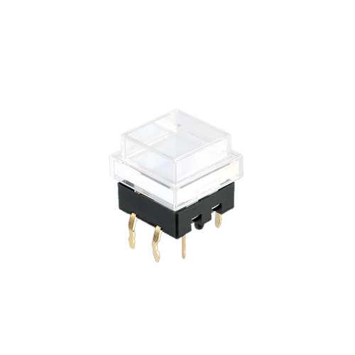 spl12 clear cap - push button switch - rjs electronics ltd