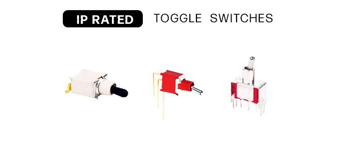 Toggle switches ip rated waterporoof