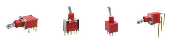 toggle switch series RJS-2A, IP67, sealed, sub-miniature, RJS Electronics ltd