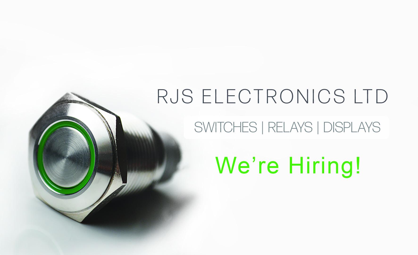 we're hiring! RJS Electronics Ltd, Bedford, Bedford College. Sales Intern, Stores, RJS Electronics Ltd